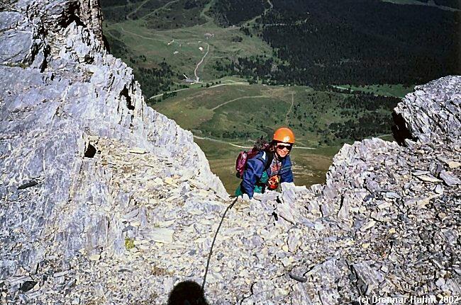 Klettersteig Rotstock : Dietmars heimseite